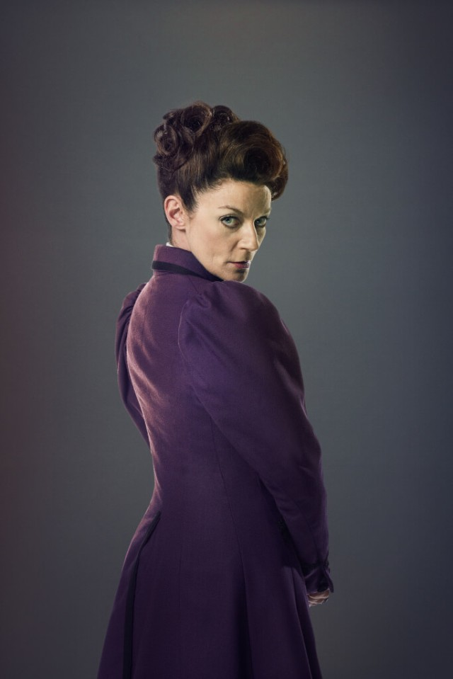 Doctor Who, Season 9, Missy (Michelle Gomez). Photo Credit: © BBC WORLDWIDE LIMITED