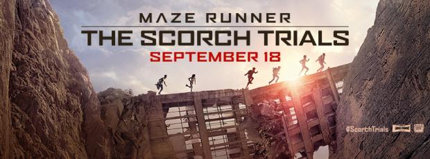 Maze Runner_The Scorch Trials_Banner