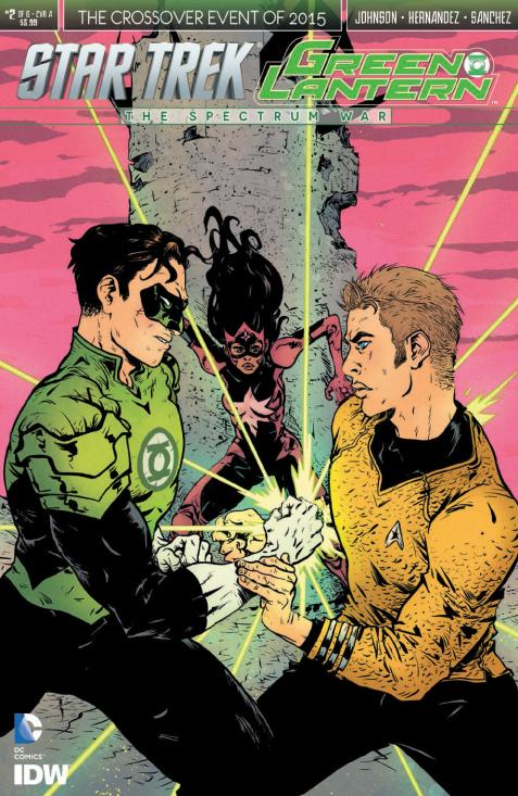 Star Trek:Green Lantern #2_Cover