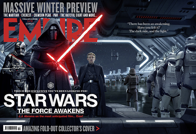 Star Wars_The Force Awakens_Empire Cover_Villains