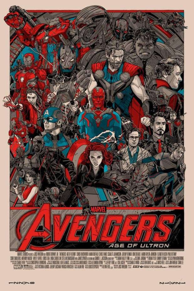 Avengers_Age of Ultron_By Tyler Stout
