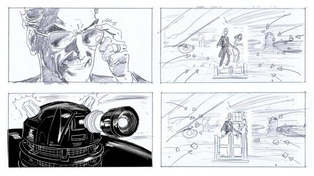 Doctor Who_S9E2_The Witch's Familiar_Storyboards (2)