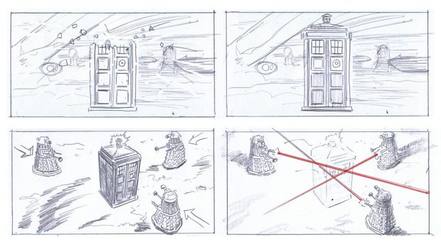 Doctor Who_S9E2_The Witch's Familiar_Storyboards (3)