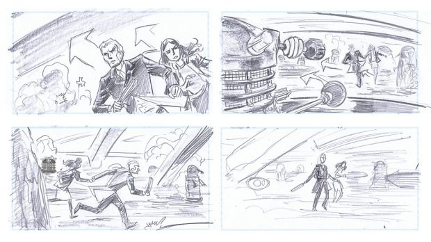 Doctor Who_S9E2_The Witch's Familiar_Storyboards (4)