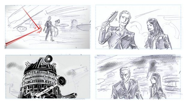 Doctor Who_S9E2_The Witch's Familiar_Storyboards (5)