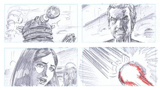 Doctor Who_S9E2_The Witch's Familiar_Storyboards (6)