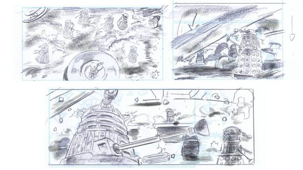 Doctor Who_S9E2_The Witch's Familiar_Storyboards