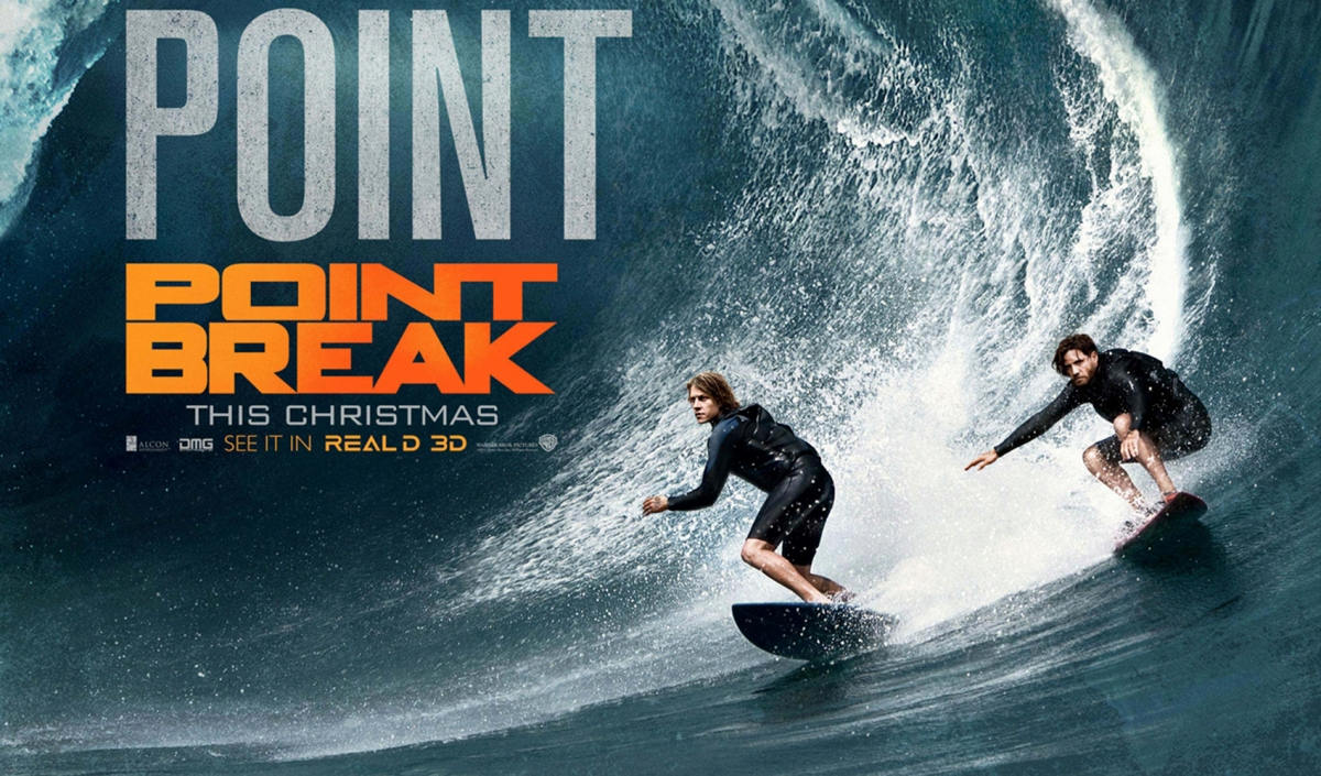 New Featurette and Poster For 'Point Break' – We Geek Girls