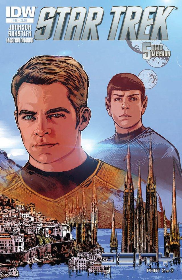 STAR TREK #49_Cover