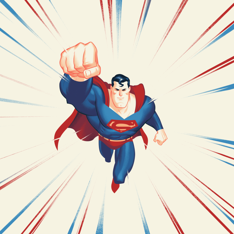 Superman_The Animated Series – Die-Cut Single
