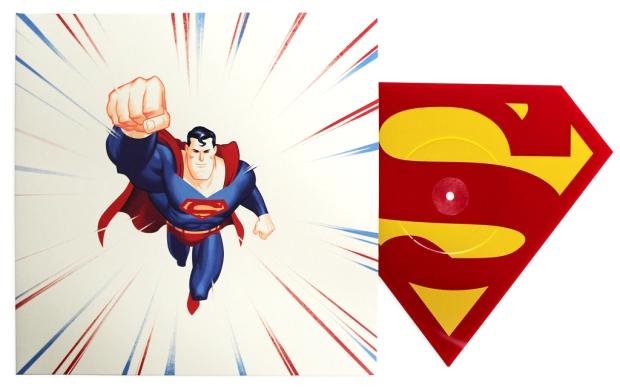 Superman_The Animated Series – Die-Cut Single2