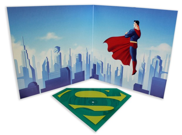 Superman_The Animated Series – Die-Cut Single3