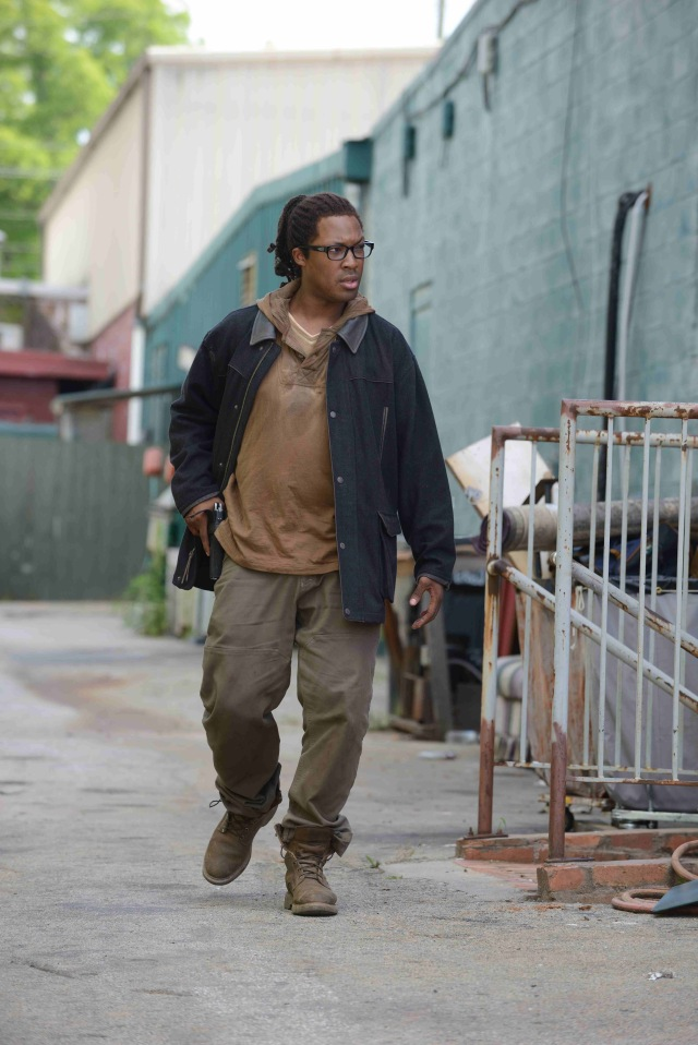 Corey Hawkins as Heath  - The Walking Dead _ Season 6, First Look - Photo Credit: Gene Page/AMC