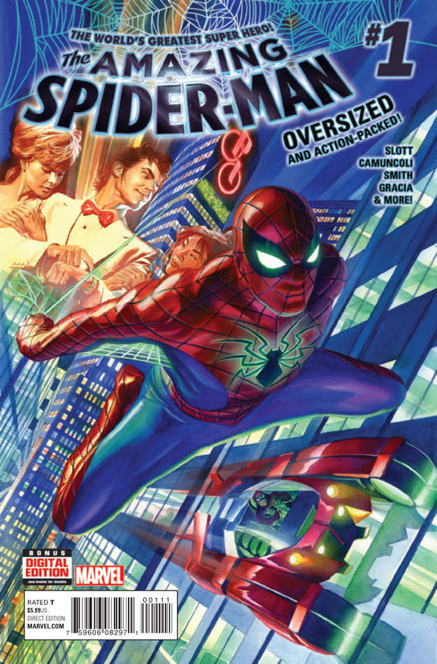 AMAZING SPIDER-MAN #1_Cover