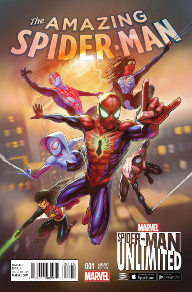 AMAZING SPIDER-MAN #1_Variant3