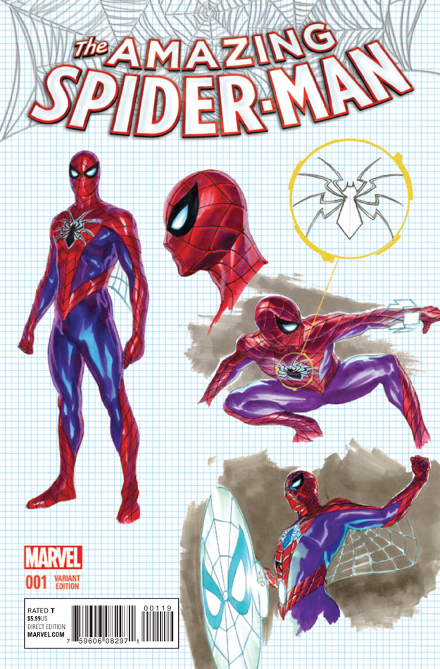 AMAZING SPIDER-MAN #1_Variant4