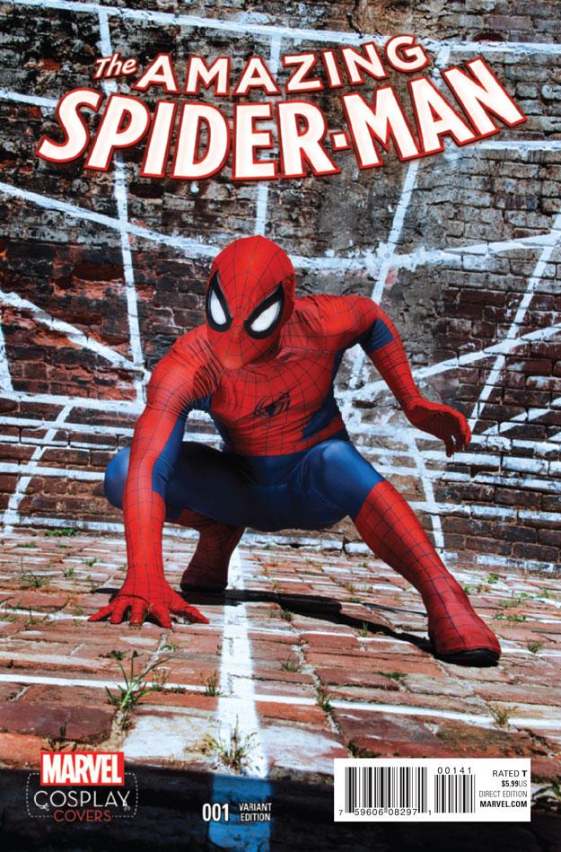 AMAZING SPIDER-MAN #1_Variant7