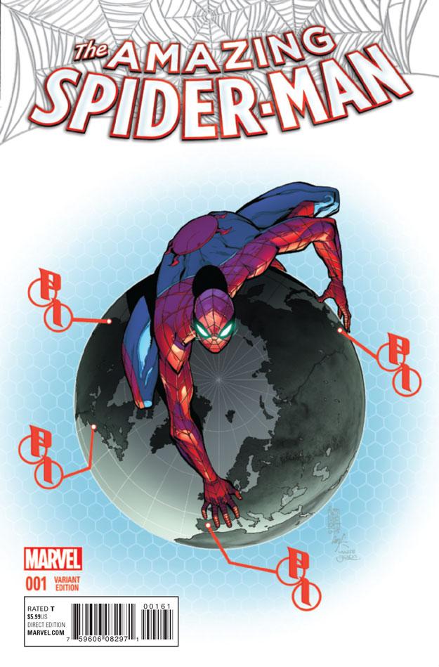 AMAZING SPIDER-MAN #1_Variant8