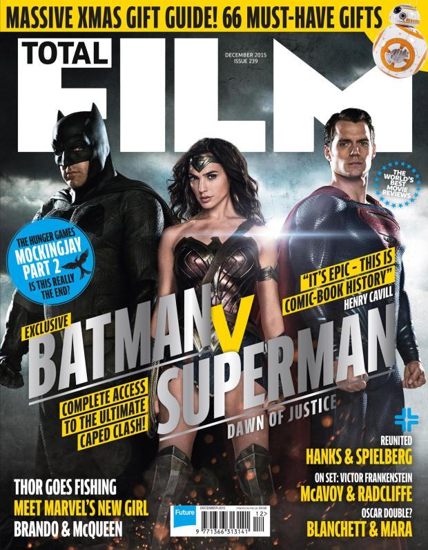 Batman v Superman_Dawn of Justice_Total Film Cover
