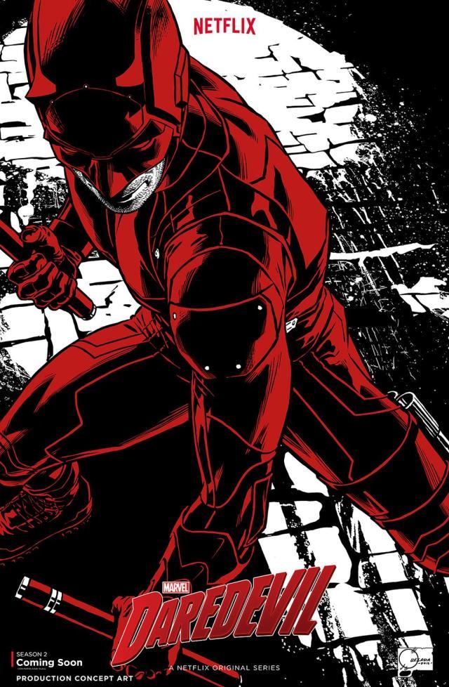 Daredevil_Season 2_Concept Art Poster