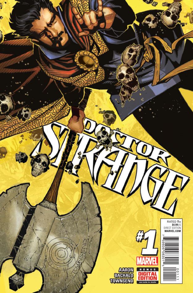 DOCTOR STRANGE #1_Cover
