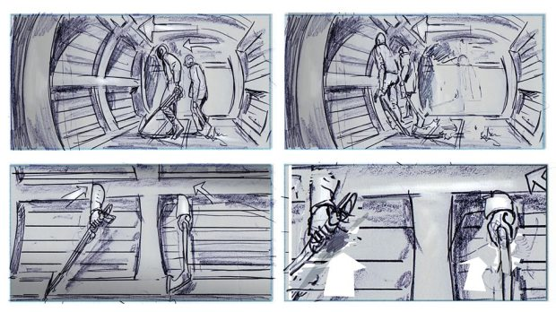 Doctor Who_S09E03_Under The Lake_Storyboards