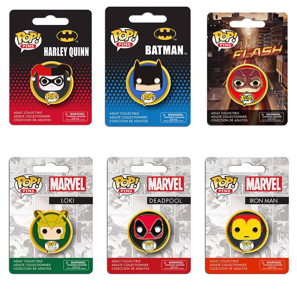 Deadpool 2015 Funko POP Pins Marvel