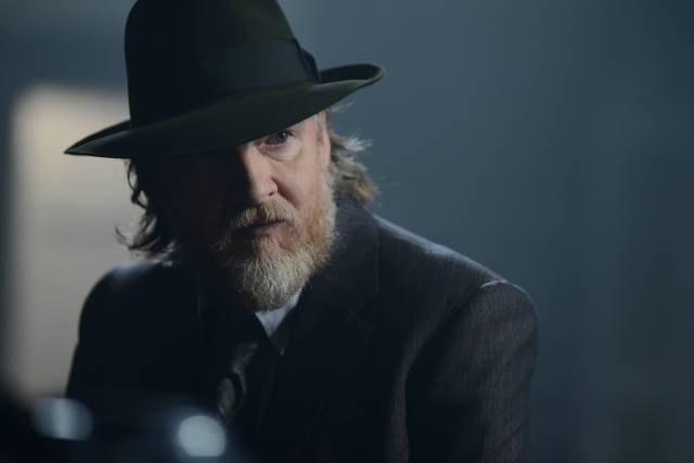 GOTHAM: Bullock (Donal Logue)  in the ÒRise of the Villains: Strike ForceÓ episode of GOTHAM airing Monday, Oct. 12 (8:00-9:00 PM ET/PT) on FOX. ©2015 Fox Broadcasting Co. Cr: FOX.