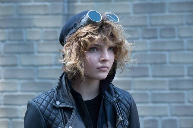 GOTHAM: Selina (Camren Bicondova) in the ÒRise of the Villains: Strike ForceÓ episode of GOTHAM airing Monday, Oct. 12 (8:00-9:00 PM ET/PT) on FOX. ©2015 Fox Broadcasting Co. Cr: FOX.