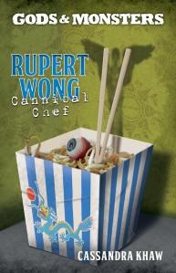 RUPERT WONG CANNIBAL CHEF - COVER