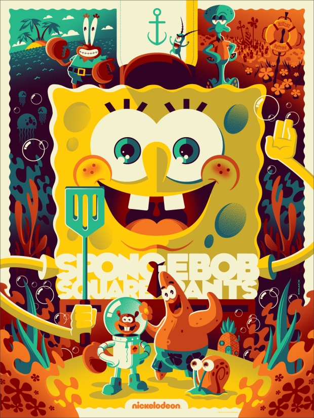 Spongebob Squarepants by Tom Whalen