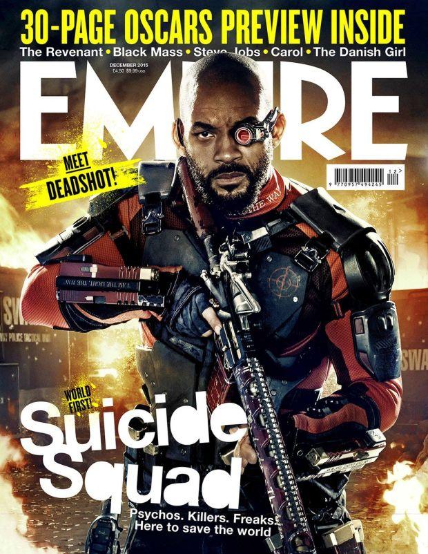 Suicide Squad_Deadshot_Empire Cover