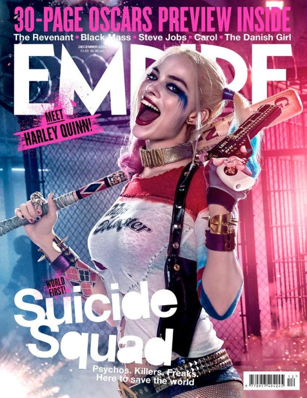 Suicide Squad_Harley Quinn_Empire Cover