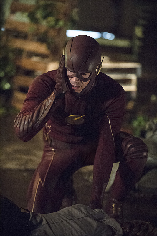 "The Flash -- ""Flash of Two Worlds"" -- Image FLA202A_0049b -- Pictured: Grant Gustin as the Flash -- Photo: Cate Cameron/The CW -- © 2015 The CW Network, LLC. All rights reserved."