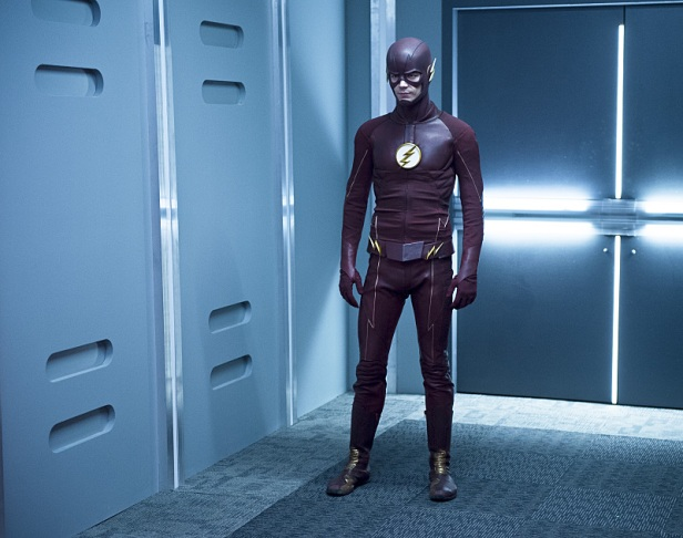 """The Flash -- """"Family of Rogues"""" -- Image FLA203b_0472b.jpg -- Pictured: Grant Gustin as The Flash -- Photo: Diyah Pera/The CW -- © 2015 The CW Network, LLC. All rights reserved."""