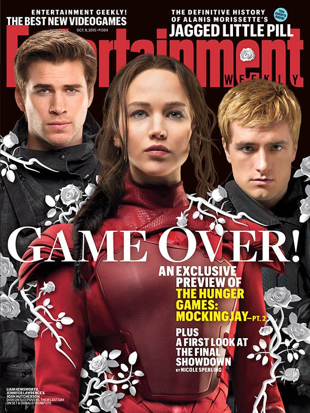 The Hunger Games_Mockingjay Part 2_EW Cover