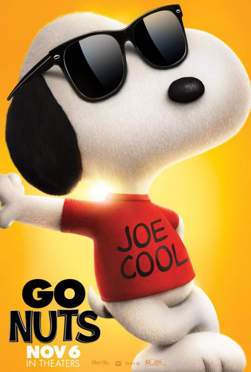 Go nuts with these 7 new character posters for the peanuts movie