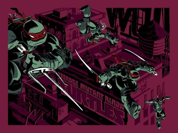 TMNT (Variant) by Ciro Nieli