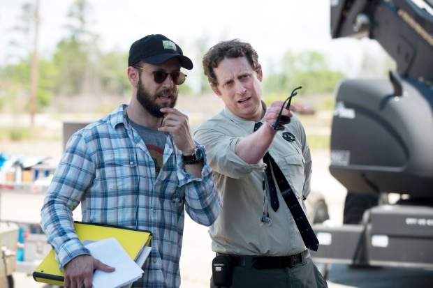 Showrunner Scott Gimple - The Walking Dead _ Season 6, Episode 1 _ BTS - Photo Credit: Gene Page/AMC