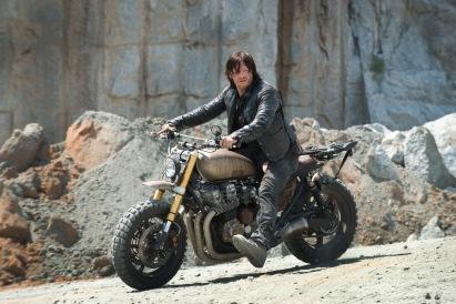 Norman Reedus as Daryl Dixon - The Walking Dead _ Season 6, Episode 1 - Photo Credit: Gene Page/AMC