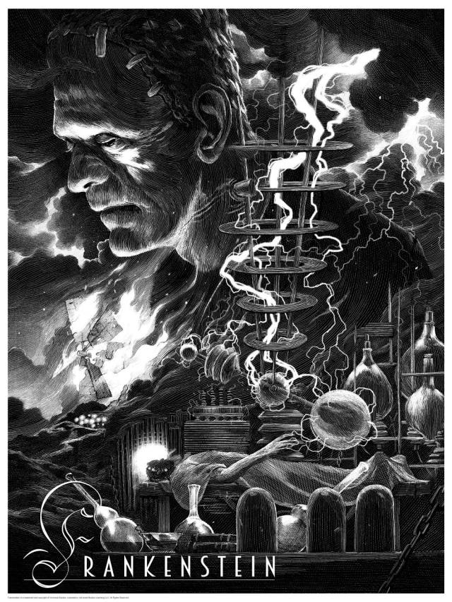 Universal Classic Monsters_Frankenstein_By Nicolas Delort