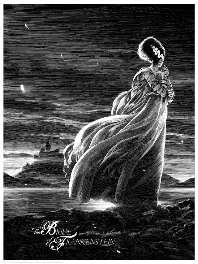 Universal Classic Monsters_The Bride of Frankenstein_By Nicolas Delort