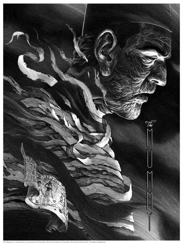Universal Classic Monsters_The Mummy_By Nicolas Delort