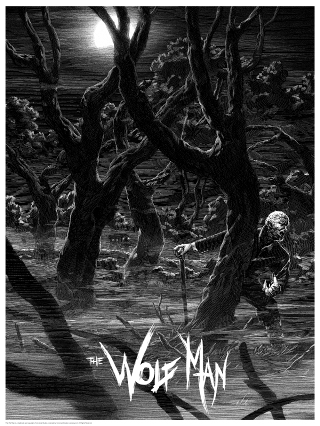 Universal Classic Monsters_Wolf Man_By Nicolas Delort