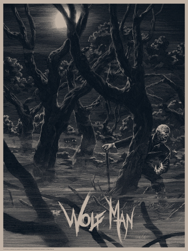 Universal Classic Monsters_Wolf Man_Variant_By Nicolas Delort