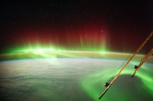 (July 15, 2014) --- An aurora captured by the Expedition 40 crew.