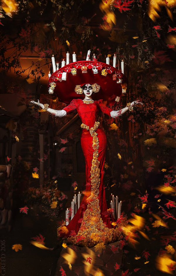 Book Of Life Cosplay by_Mary von Sher