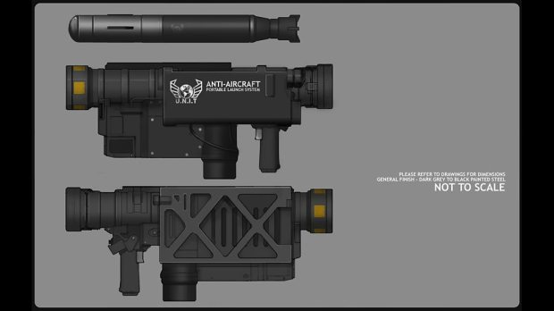 Reference art – rocket launcher.