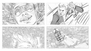 Doctor Who_S09E10_Face the Raven_Storyboards