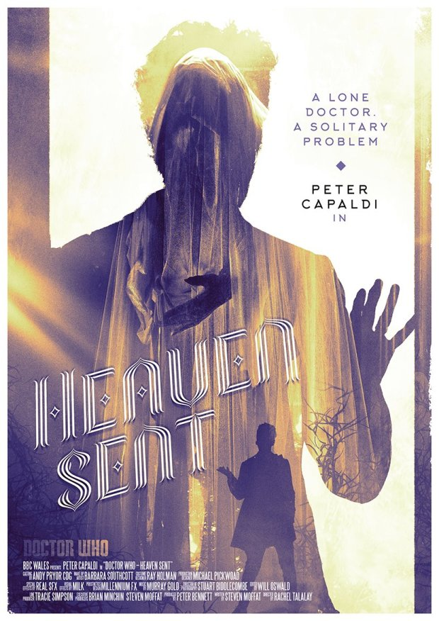 Doctor Who_S09E11_Heaven Sent_Poster by Stuart Manning